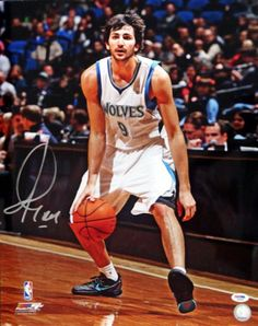 165d5c36484 Ricky Rubio Autographed 16x20 Photo Minnesota Timberwolves PSA DNA