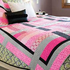 Clarkson Crossing: Favorite Colors Dorm Bed Quilt Pattern