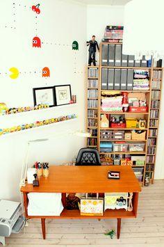 Med et lekent sinn: My new desk from heaven