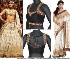 Designer Blouses For Silk Sarees | Blouse Designs, Silk Blouse