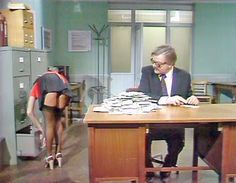 Vintage Stuff: The 1970s office - BENNY HILL SHOW
