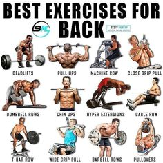 Best exercises of back