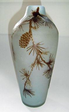 EMILE GALLÉ-Botanicals Vase
