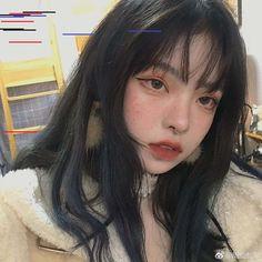 Image in Kpop girls collection by Uzzlang Girl, Aesthetic Makeup, Aesthetic Girl, Japonese Girl, Moda Ulzzang, Tumbrl Girls, Beauty Makeup, Hair Makeup, Fashion Beauty
