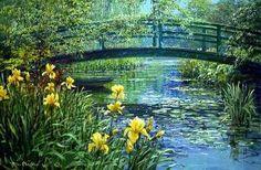 PeterEllenshaw - Monets Bridge