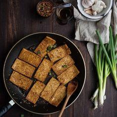 Creamy Polenta with Crispy Beets + Dill Pistachio Pesto | With Food + Love