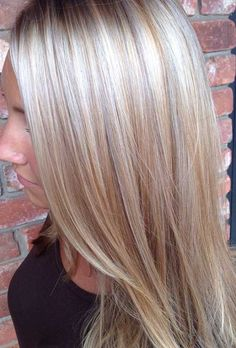Find this Pin and more on Hair by sierra6344. Honey blonde hair with platinum highlights