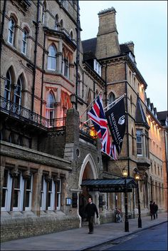This large Victorian Gothic hotel is in the centre of Oxford and dates from It has featured several times in the Morse TV series. Oxford England, London England, Dc Travel, Places To Travel, Places To See, Luxury Travel, Cornwall England, Yorkshire England, Yorkshire Dales