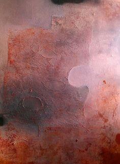 """Alvaro Pérez """"Abstracto gris y marron"""" Acrílico y  mixta sobre lienzo 122 x 145 cm. 2016"""