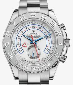 Rolex Yacht-Master II Watch: 18 ct white gold and platinum – M116689-0001
