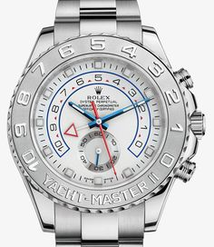 Rolex Yacht-Master II Watch: 18 ct white gold and platinum – M116689-0001