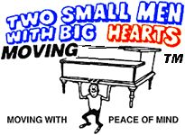 Two Small Men with Big Hearts Moving Company, International Moving, Corporate Moving, Commercial Moving, Residential Moving