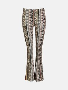 Marisa Print pants   7182091   Multi   BikBok   Norge