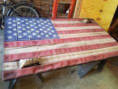 Fire Hose Flag 3 x 5 Ft