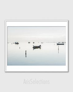 Coastal Wall Art Decor * Fine Art Photography Boating Gift for Him, Nautical Print Modern Decor, Serene Wall Art Beach Photo Beach Art Print