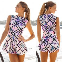 Sexy Womens Ladies Summer Beach Playsuit Bodycon Party Jumpsuit & Romper Trouser #Unbranded #Jumpsuit #Clubwear