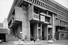 Kallmann McKinnell & Knowles, Boston City Hall, 1969