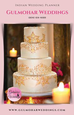 The Most Popular Wedding Photos Unique Wedding Photos - Creative Wedding Pictures Indian Wedding Cakes, Unique Wedding Cakes, Trendy Wedding, Henna Wedding Cake, Indian Bridal, Elegant Wedding, Rustic Wedding, Cupcakes, Cupcake Cakes