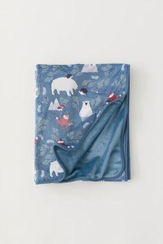 Fleece plaid met dessin | H&M online en in de winkel te verkrijgen | 19,99 €