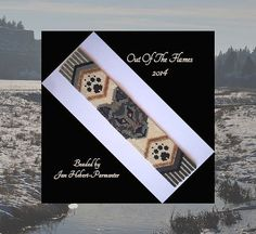 Bead PATTERN Eternal Legend Wolf Cuff Bracelet by Outoftheflames