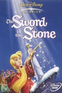 The Sword in the Stone - Merlin the Magician teaches a young boy who is destined to be King Arthur.  A great classic!