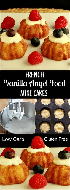 French Vanilla Angel Food Cake, grain free- Low carb, paleo and gluten free