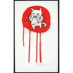 """nuradalias: """" Insane Minotaur by Stanley Donwood """"The weeping minotaur was initially a tiny sketchbook drawing, but became a sort of avatar for Radiohead's Amnesiac, the album which followed Kid A. I kind of though that the minotaur was a tragic..."""