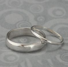 The+Perfect+PairSet+of+Two+Plain+Jane+Sterling+Silver+by+debblazer,+$55.00