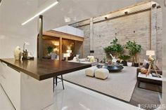 a converted warehouse in San Francisco