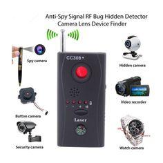 Anti-Spy Bug Detector Finder Wireless Camera Cell Phone GPS RF Signal Full Rang #UnbrandedGeneric