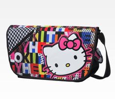 Hello Kitty Messerbag: Colorblock