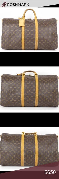 100% Louis Vuitton keepball bandouliere 55 Used 100% Authentic Louis Vuitton keepball bandouliere 55 monogram Louis Vuitton Bags Travel Bags