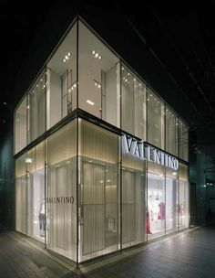 Valentino Ginza on the Namiki street in Ginza (c)Garde Co. Ltd