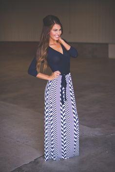 c6ed6ef2c8d Dottie Couture Boutique - Wrap Maxi Dress- Navy