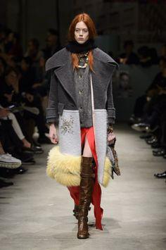 Prada, Осень-зима 2017/2018, Ready-To-Wear, НЕДЕЛЯ МОДЫ: Милан