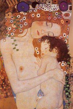 The Three Ages of Woman.  1905 Gustav Klimt