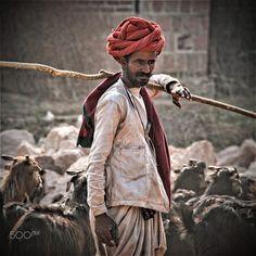 rabar farmeri with goats by Gerard Roosenboom on 500px