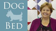 Fabric Scrap Dog Bed: An Easy Sewing Project Tutorial with Jenny Doan of Missouri Star Quilt Co #quilting
