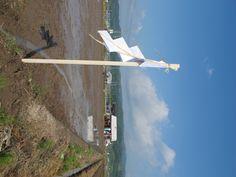 【御田植】平成24年5月26日、伝統的稲作行事『御田植』(主催・巴会)にて。田んぼの四隅に梵天がたてられました。