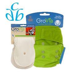 12/28/12 FYSF, Win a Gro Via Cloth Diaper Sampler Package!