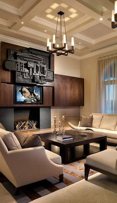 Modern Living Room with 1930s feel