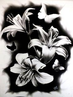 Lillies by gpreece on DeviantArt