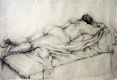 Graphite Drawing example from live model