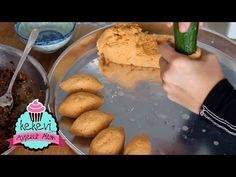 Stuffed meatball recipe is so easy Kolay& I shaped it with 4 different methods, Finger Food Appetizers, Finger Foods, Appetizer Recipes, Snack Recipes, Dessert Recipes, Cooking Recipes, Desserts, Seafood Recipes, My Recipes