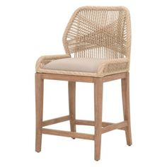 Orient Express Furniture Loom Counter Stool | Hayneedle