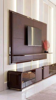 Tv Cabinet Design Modern, Modern Tv Wall Units, Tv Wall Design, House Design, Bedroom Tv Unit Design, Tv Shelf Design, Simple Tv Unit Design, Modern Tv Unit Designs, Hall Design