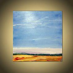 36 grandes x36 pulgadas abstracto paisaje por AIDACONTEMPORARYART
