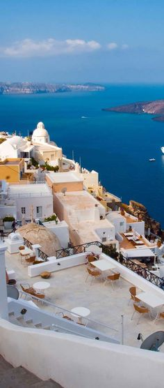 Santorini, Greece For luxury hotels in Santorini visit http://www.mediteranique.com/hotels-greece/santorini/