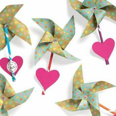 I'm SO taking this idea and making my own. Scrapbook paper, Pixie sticks, pin backs and stickers. Seems easy...!