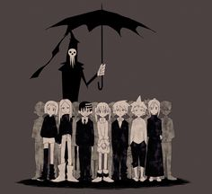 Lord Death, and the students of the Death Weapon Meister Academy.